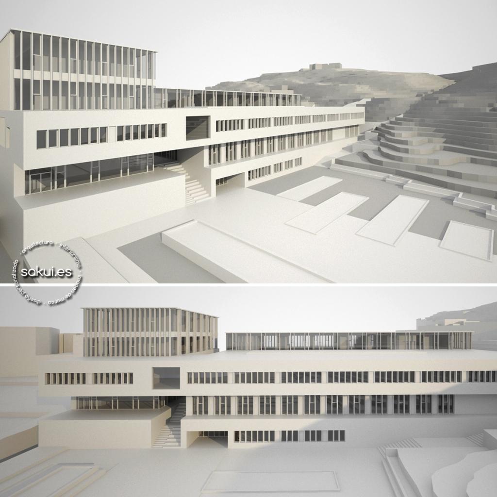 infografías de arquitectura