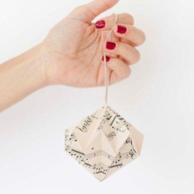 Decoracion de origami