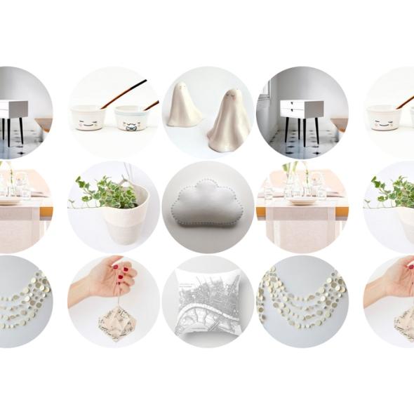 Ideas de decoración en blanco